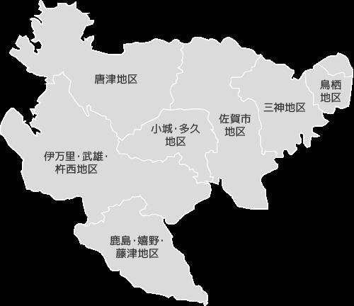 一般社団法人日本中古自動車販売協会連合会 地区別マップ